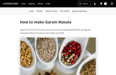http://www.yuppiechef.co.za/spatula/how-to-make-garam-masala/