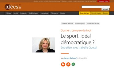 http://www.laviedesidees.fr/Le-sport-ideal-democratique.html