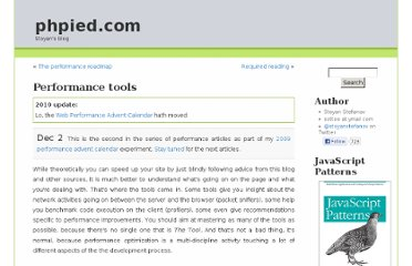 http://www.phpied.com/performance-tools/
