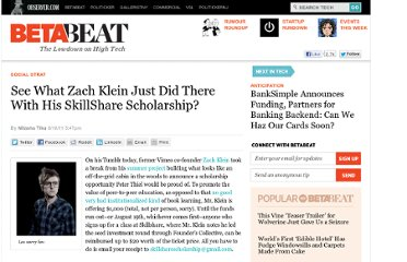 http://betabeat.com/2011/08/see-what-zach-klein-just-did-there-with-his-skillshare-scholarship/