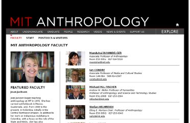 http://web.mit.edu/anthropology/people/faculty/index.html