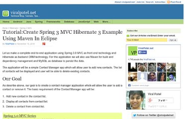 http://viralpatel.net/blogs/spring3-mvc-hibernate-maven-tutorial-eclipse-example/