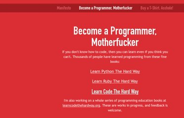 http://programming-motherfucker.com/become.html#Python