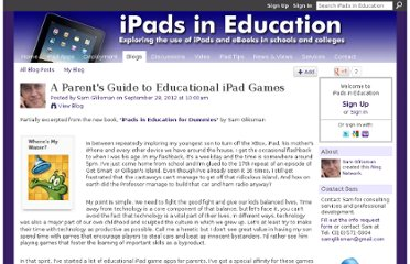 http://ipadeducators.ning.com/profiles/blogs/a-parent-s-guide-to-educational-ipad-apps