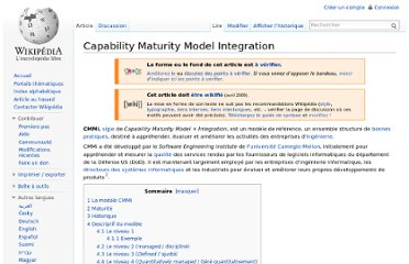 http://fr.wikipedia.org/wiki/Capability_Maturity_Model_Integration