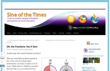 http://blog.keycurriculum.com/2012/01/oh-the-fractions-youll-see/#more-3028
