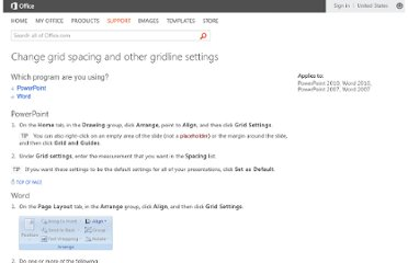 http://office.microsoft.com/en-us/powerpoint-help/change-grid-spacing-and-other-gridline-settings-HA010199153.aspx