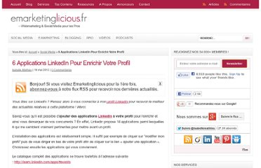 http://www.emarketinglicious.fr/social-media/6-applications-linkedin-pour-enrichir-votre-profil