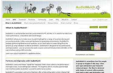 http://www.audiomulch.com/info/what-is-audiomulch