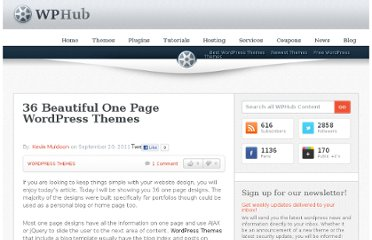 http://www.wphub.com/one-page-wordpress-themes/