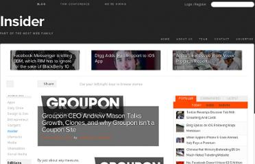 http://thenextweb.com/insider/2010/03/24/groupon-ceo-andrew-mason-talks-growth-clones-groupon-coupon-site/