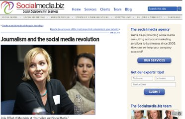http://socialmedia.biz/2011/06/24/journalism-and-the-social-media-revolution/