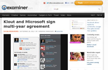 http://www.examiner.com/article/klout-and-microsoft-sign-multi-year-agreement