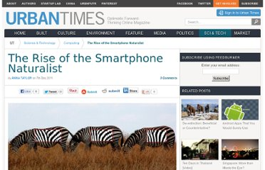 http://urbantimes.co/2011/12/the-rise-of-the-smartphone-naturalist/