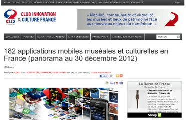 http://www.club-innovation-culture.fr/applications-mobiles-museales-et-culturelles-panorama-francais-2012/