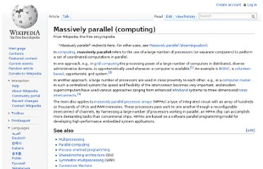 http://en.wikipedia.org/wiki/Massively_parallel_(computing)