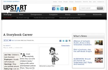 http://upstart.bizjournals.com/careers/job-of-the-week/2008/05/12/Childrens-Book-Illustrator.html