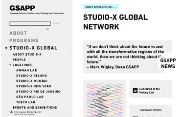 http://www.arch.columbia.edu/studio-x-global