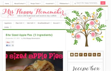 http://www.mrshappyhomemaker.com/2011/09/bite-sized-apple-pies-5-ingredients/