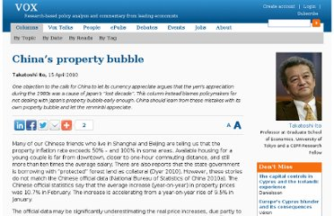 http://www.voxeu.org/article/china-s-property-bubble