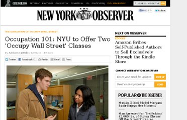 http://observer.com/2011/12/occupation-101-nyu-to-offer-two-occupy-wall-street-classes/