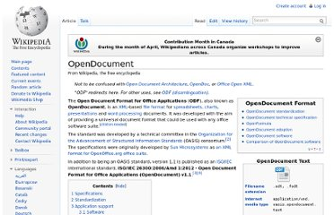 http://en.wikipedia.org/wiki/OpenDocument