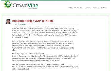 http://blog.crowdvine.com/2007/11/04/implementing-foaf-in-rails/
