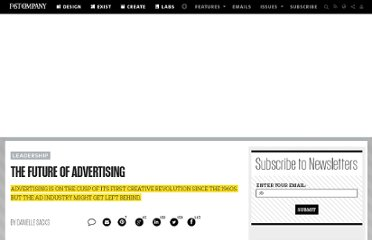 http://www.fastcompany.com/1702130/future-advertising