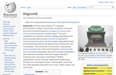 http://en.wikipedia.org/wiki/Degrowth