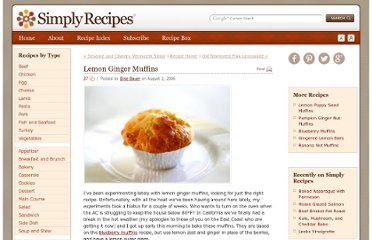 http://www.simplyrecipes.com/recipes/lemon_ginger_muffins/