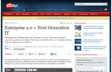 http://www.zdnet.com/blog/btl/enterprise-2-0-next-generation-it/3527
