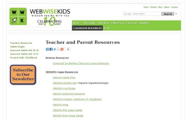 http://www.webwisekids.org/classroom-resources-teacher.html
