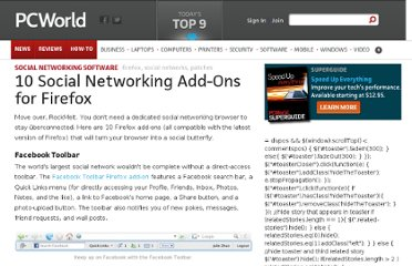 http://www.pcworld.com/article/239133/10_social_networking_add_ons_for_firefox.html
