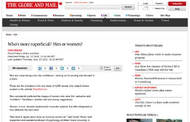http://www.theglobeandmail.com/life/whos-more-superficial-men-or-women/article569158/