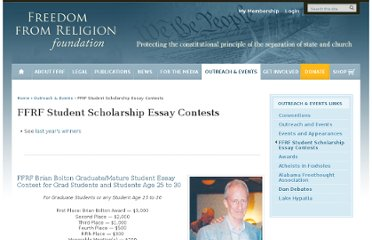 http://ffrf.org/outreach/ffrf-student-scholarship-essay-contests