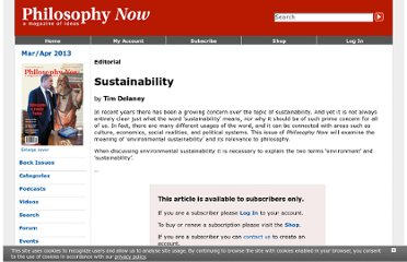 http://philosophynow.org/issues/88/Sustainability