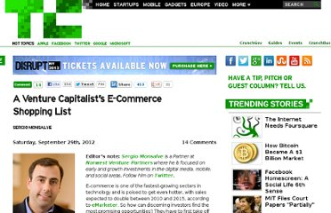http://techcrunch.com/2012/09/29/a-venture-capitalists-e-commerce-wish-list/