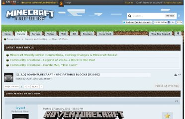 http://www.minecraftforum.net/topic/120456-132-adventurecraft-npc-pathing-blocks-r1095/