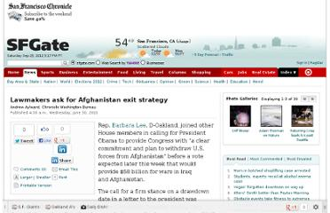 http://www.sfgate.com/world/article/Lawmakers-ask-for-Afghanistan-exit-strategy-3260361.php