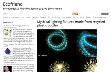 http://www.ecofriend.com/mythical-lighting-fixtures-made-from-recycled-plastic-bottles.html