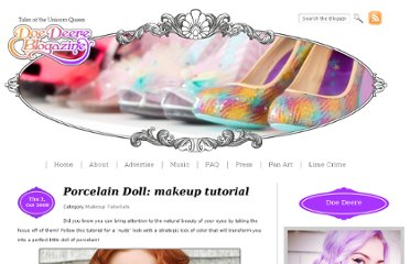 http://www.doedeereblogazine.com/articles/porcelain-doll-makeup-tutorial/