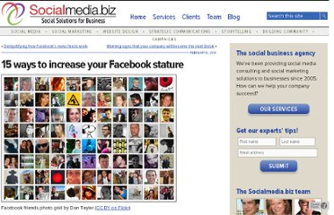 http://socialmedia.biz/2011/02/08/15-ways-to-increase-your-facebook-stature/