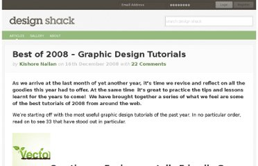 http://designshack.net/articles/best-of-2008-graphic-design-tutorials/