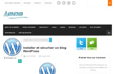 http://www.lolokai.com/securite/installation-et-securisation-dun-blog-wordpress/