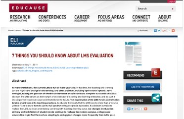 http://www.educause.edu/library/resources/7-things-you-should-know-about-lms-evaluation
