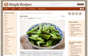 http://www.simplyrecipes.com/recipes/asparagus/