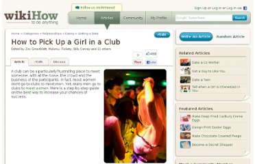 http://www.wikihow.com/Pick-Up-a-Girl-in-a-Club