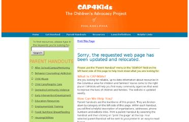 http://cap4kids.org/philadelphia/parent_handouts/teen_resources.html