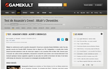 http://www.gamekult.com/jeux/test-assassins-creed-directors-cut-edition-SU3010002786t.html