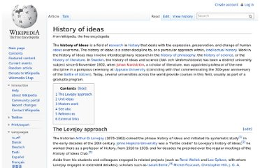 http://en.wikipedia.org/wiki/History_of_ideas